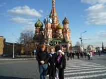 Trade mission in Moscou - april '09